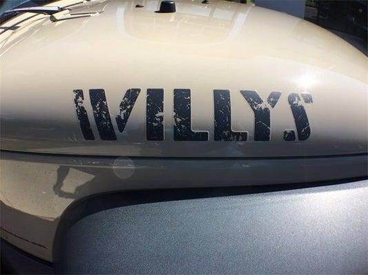 2016 Jeep Wrangler Willys Wheeler Albany Ny Colonie Glenmont Averill Park New York 1c4ajwag9gl288366